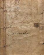 Livro dos Recibos de D. (...) Vellozo da Costa (...) Anno de 1825 - Carvalho