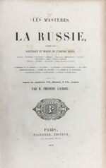 Les Mystères de la Russie, tableau Politique et Morale de l'Empire Russe